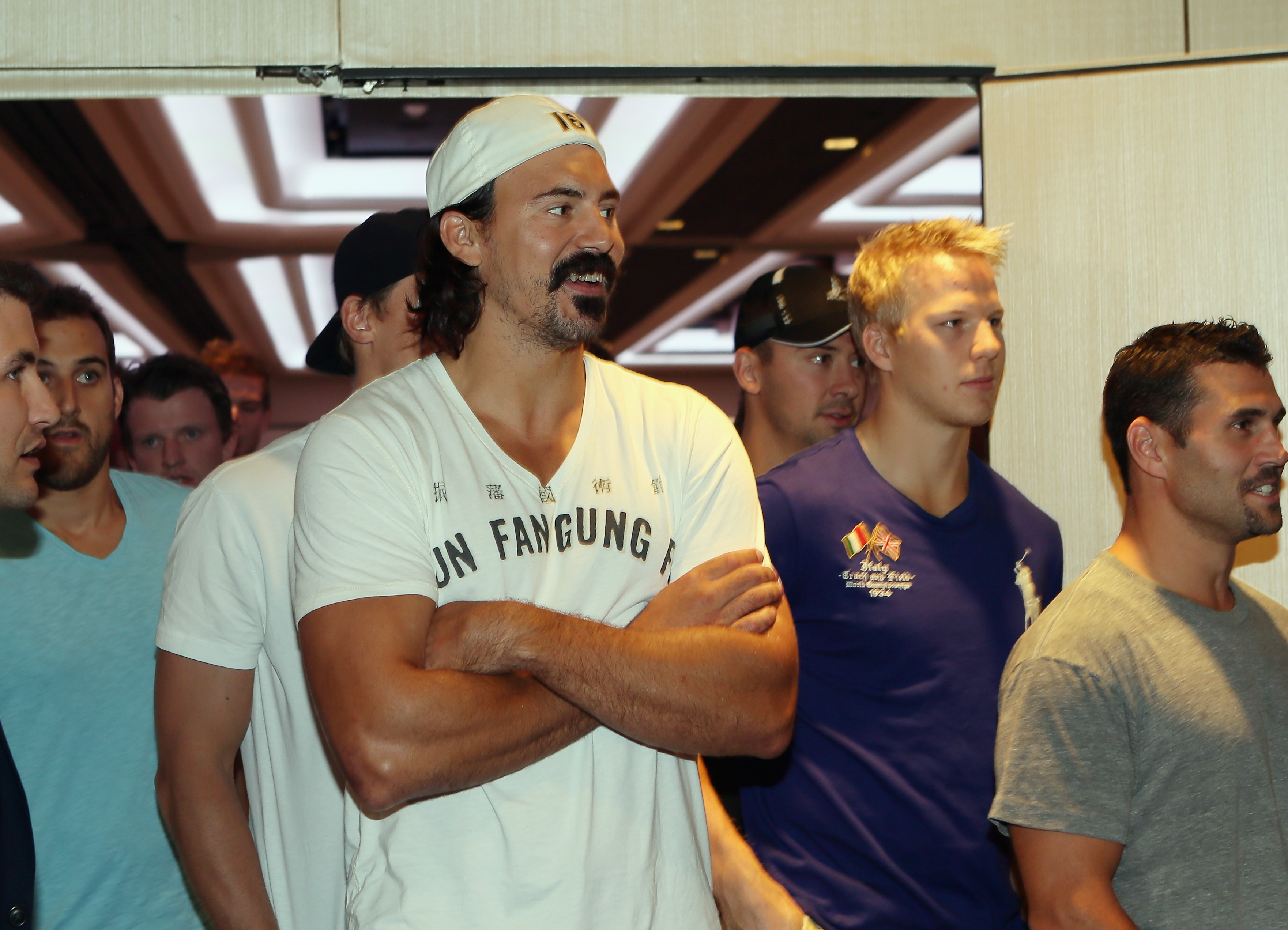 "George Parros offered up an intriguing ""one percent"" observation on the CBA battle. (Getty)"