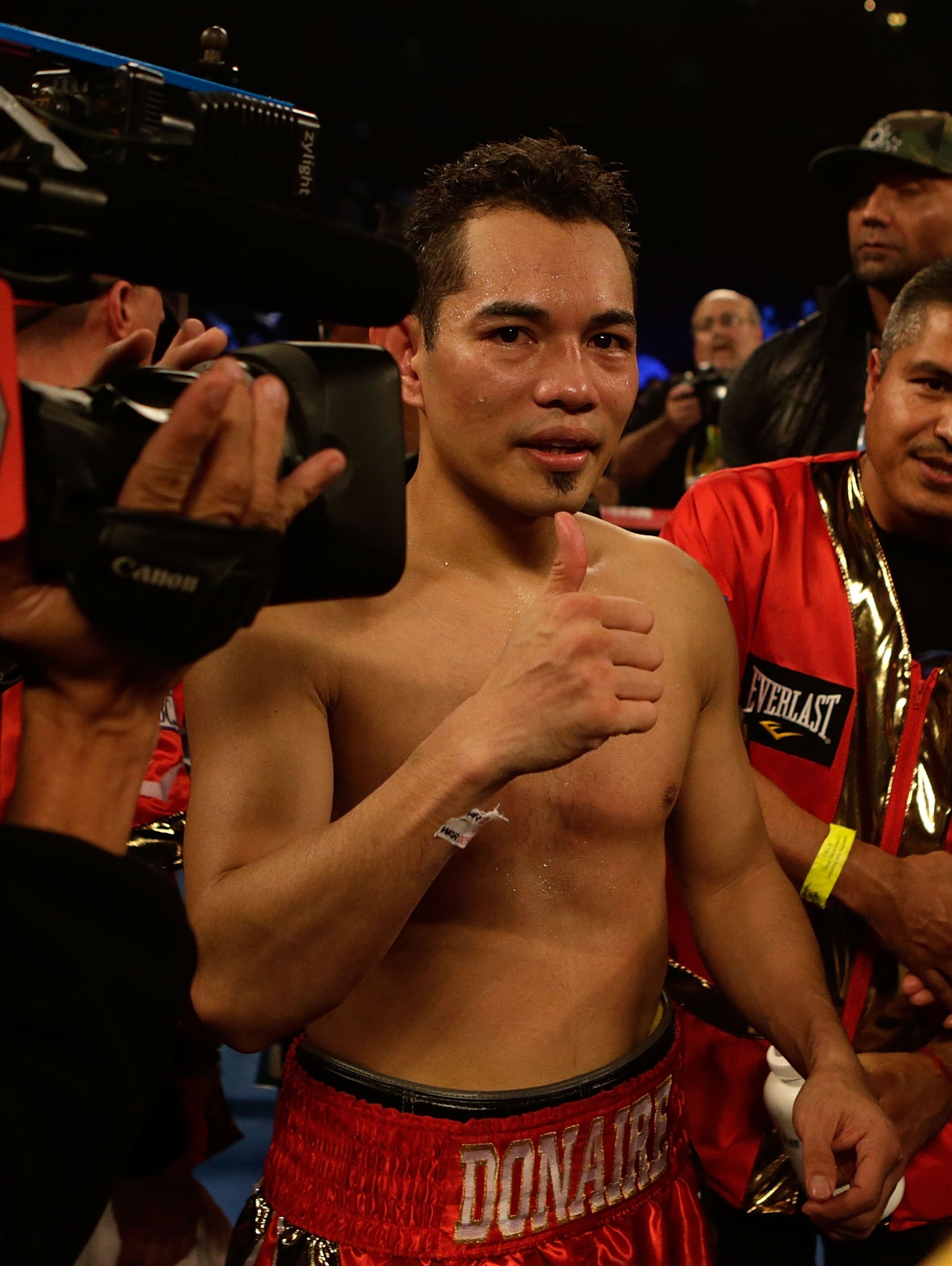 Top Rank's Nonito Donaire is one of the world's best pound-for-pound boxers. (Getty Images)