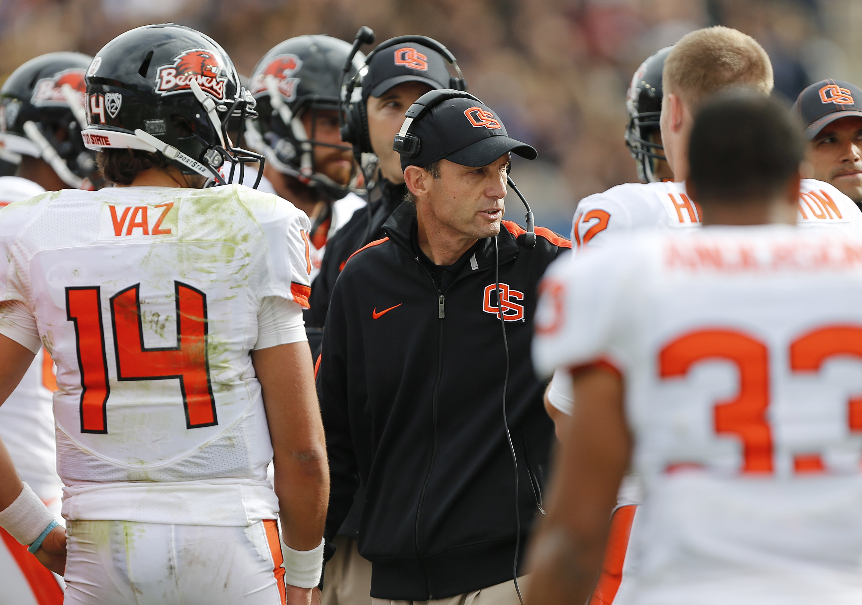 Mike Riley has helped the Beavers to a No. 8 ranking in the initial BCS standings. (Getty Images)