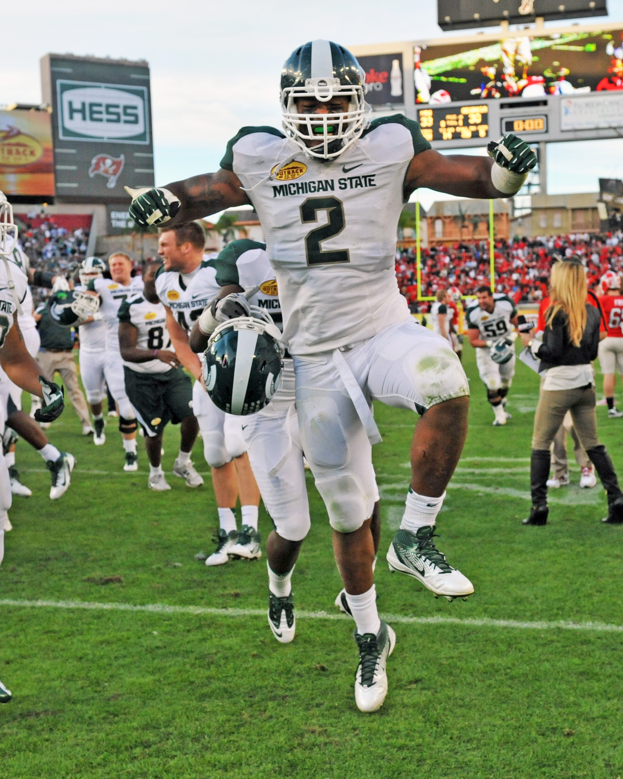 William Gholston is primed for a huge season for Michigan State. (Getty Images)