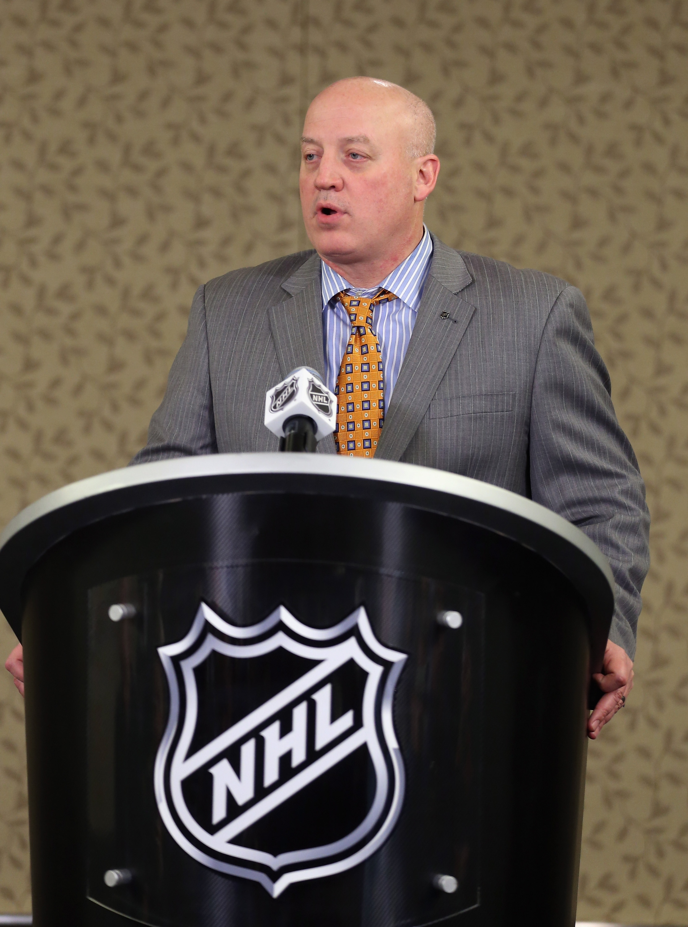 NHL Deputy Commissioner Bill Daly (Bruce Bennett/Getty Images)
