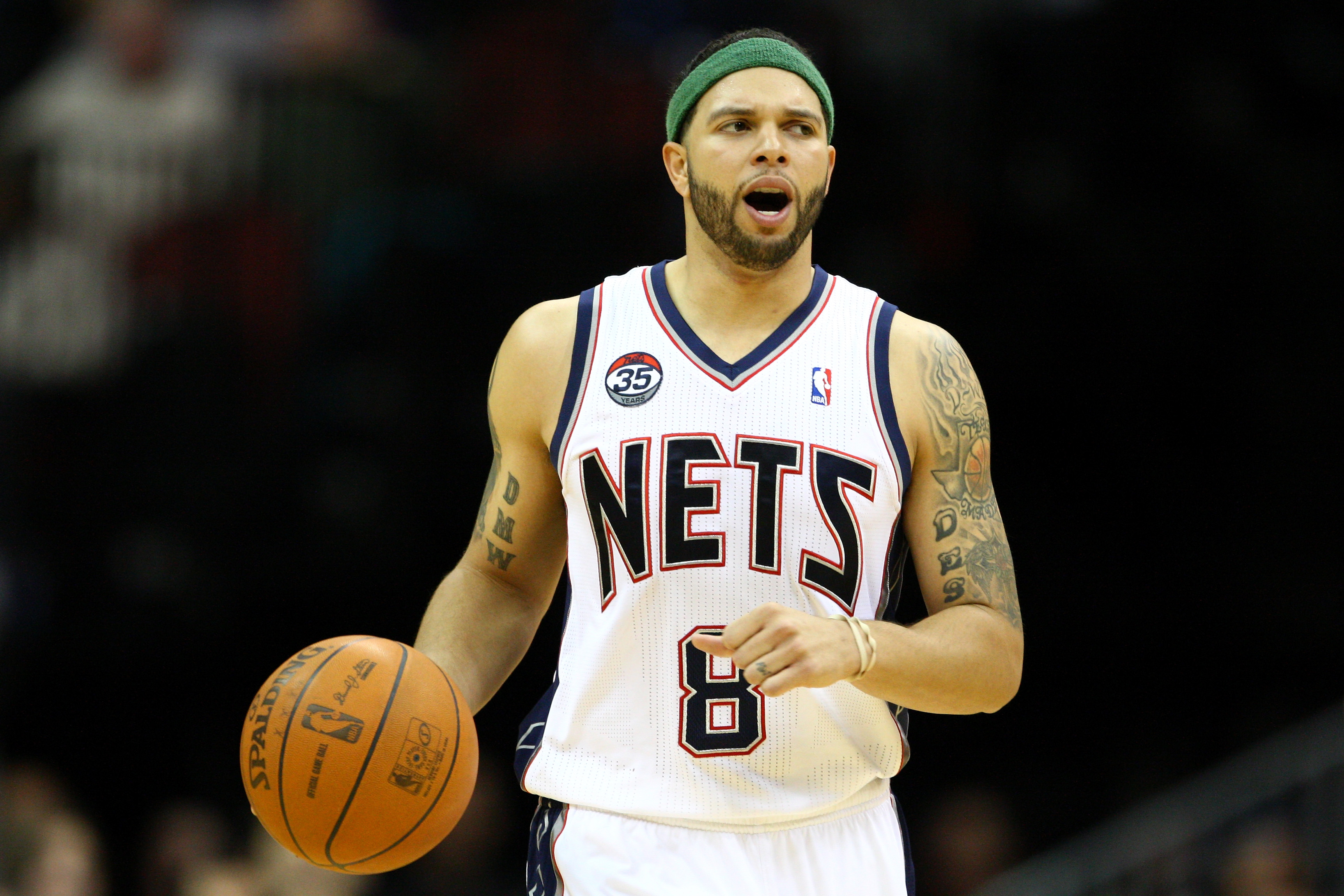Deron Williams could get an extra year worth about $25 million if he re-signs with the Nets. (Getty Images)