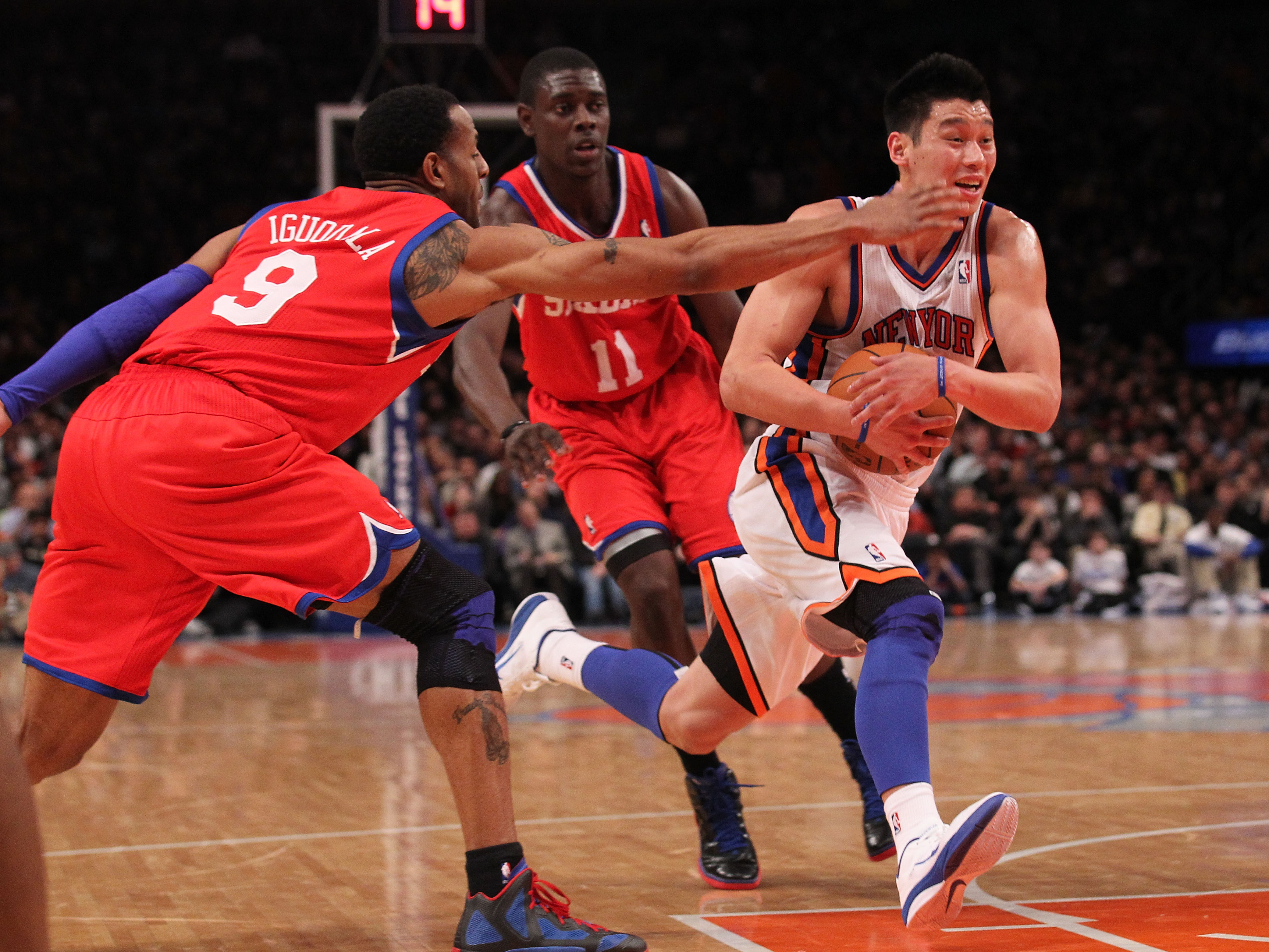 The Knicks are expected to match any offer sheet free agent Jeremy Lin receives. (Getty Images)