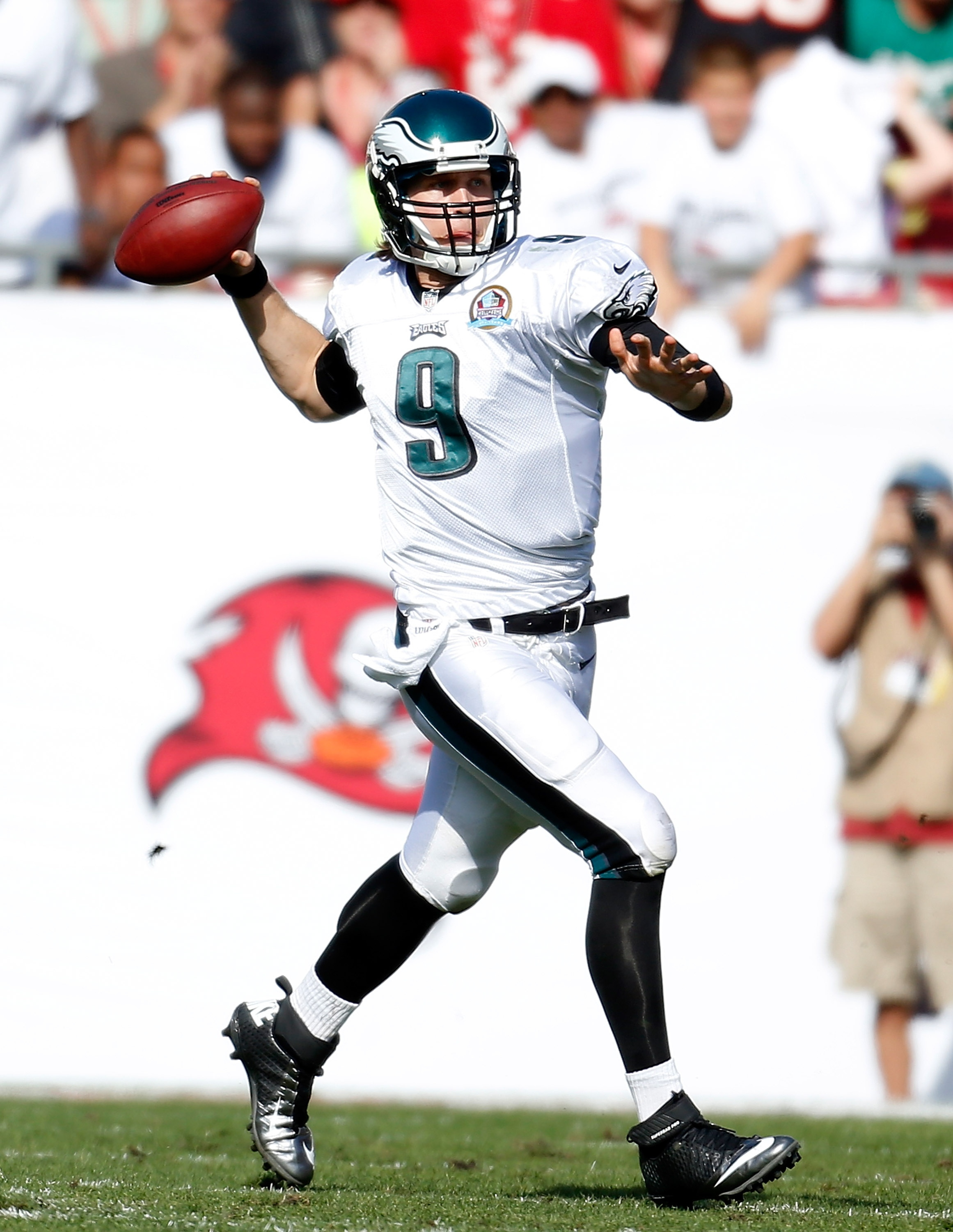 Nick Foles made all the right calls Sunday to lift the Eagles. (Getty Images)