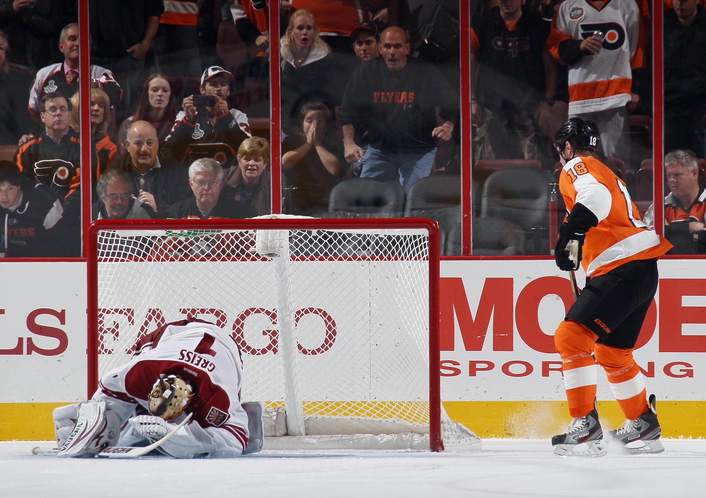 Phoenix Coyotes v Philadelphia Flyers