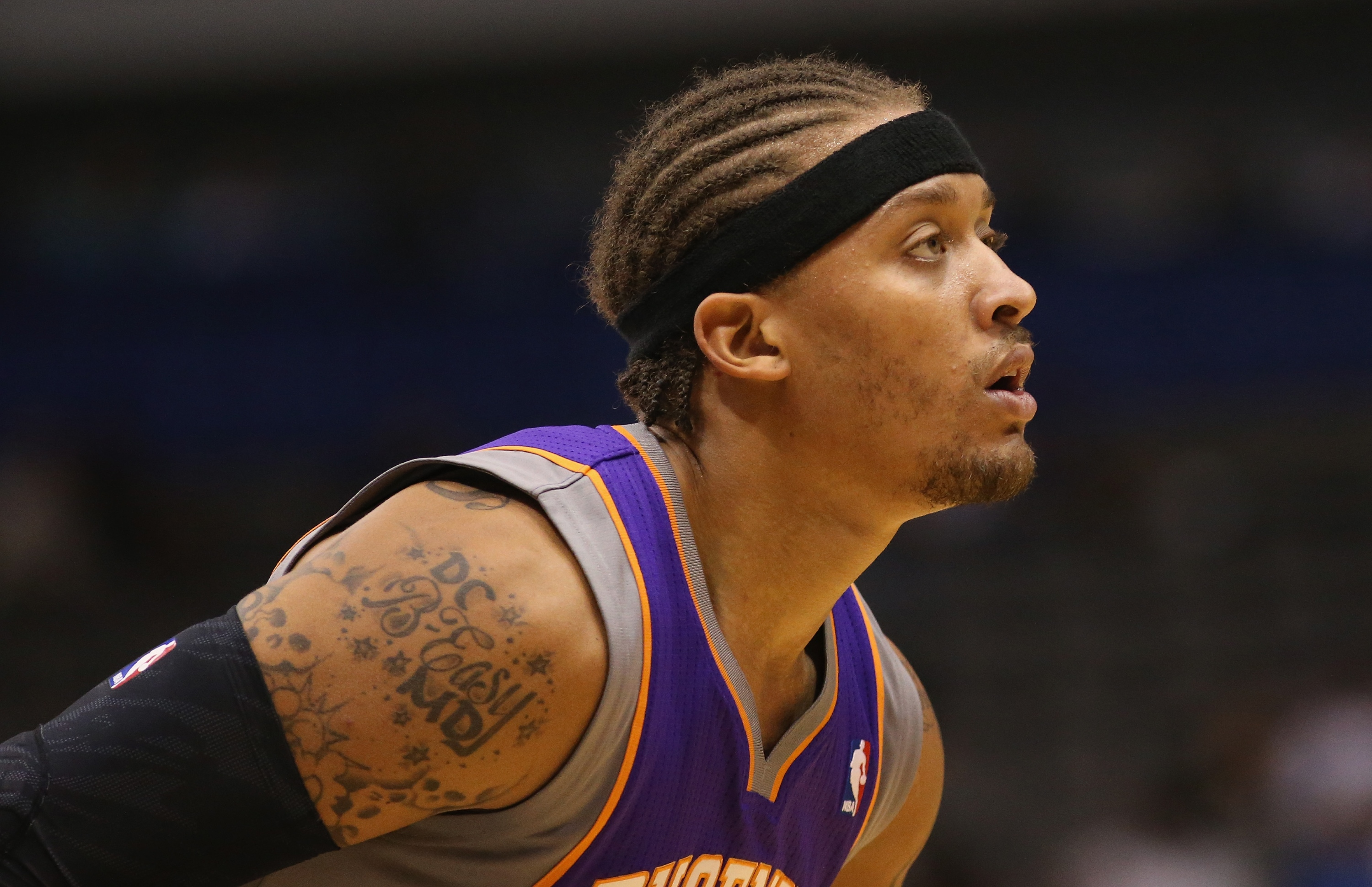 Michael Beasley signed a three-year, $18 million contract with the Suns. (Getty Images)
