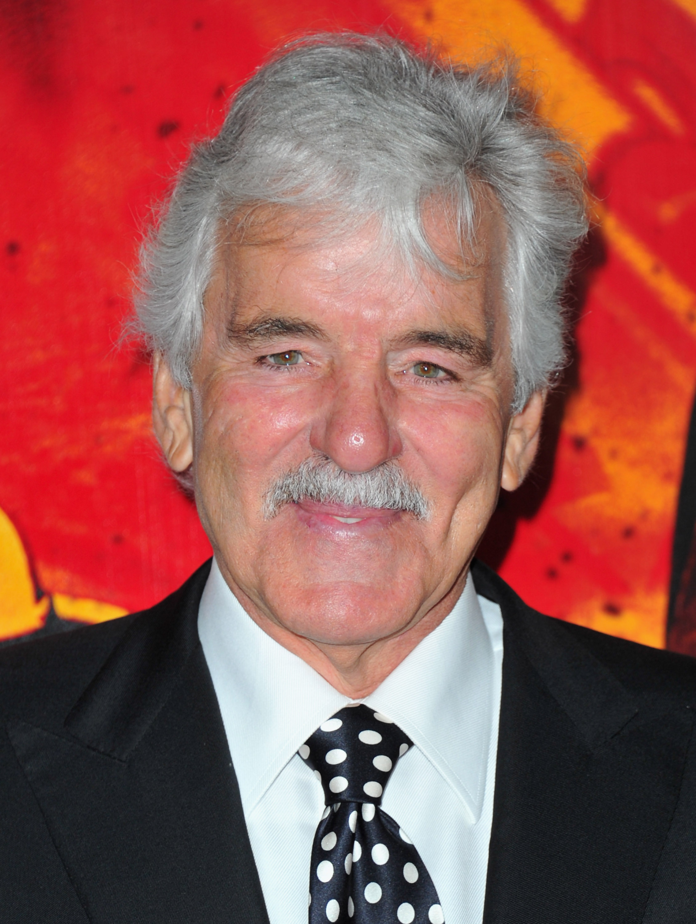News of actor Dennis Farina's death reached Twitter on Monday. (Alberto E. Rodriguez/Getty Images)