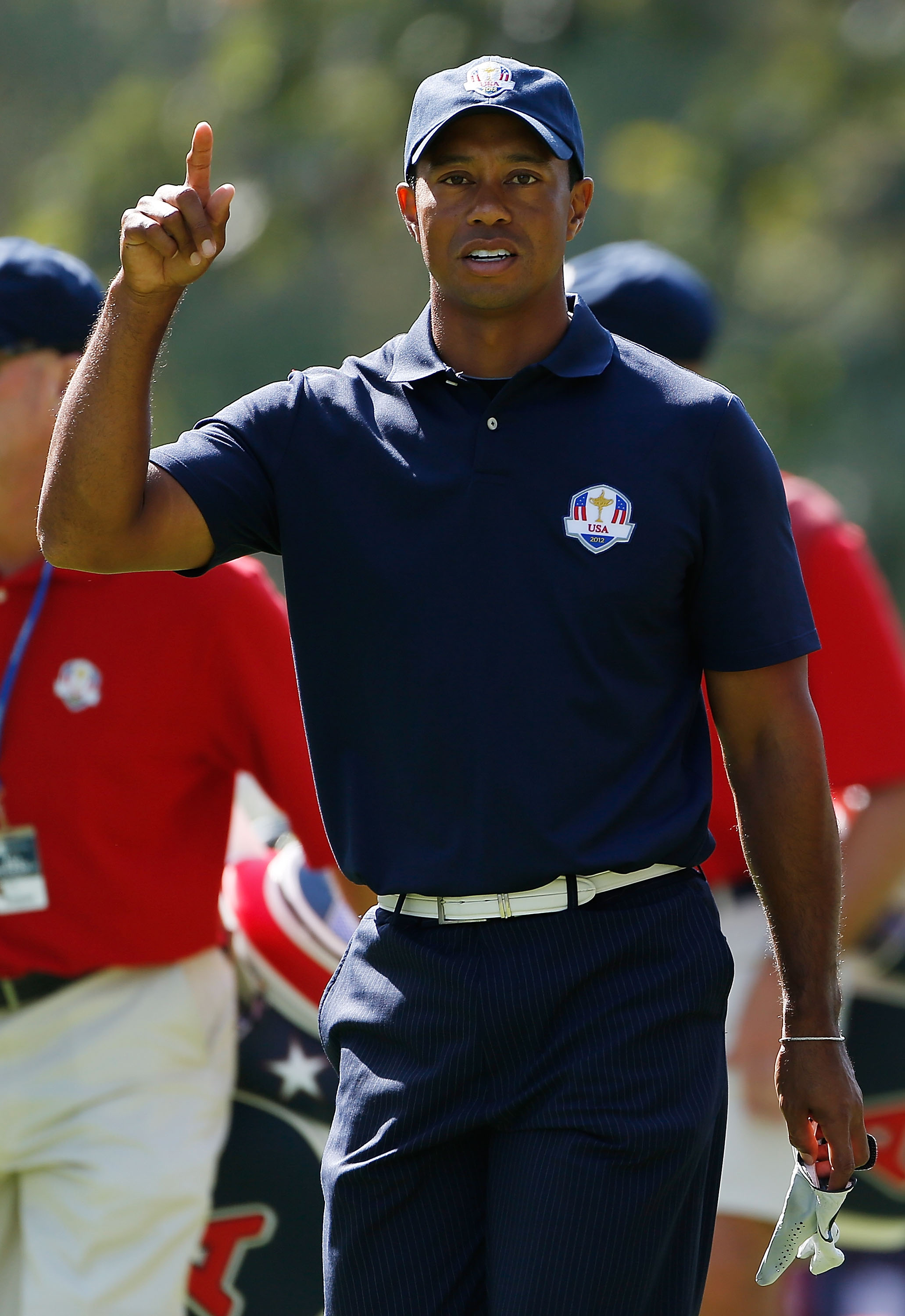 Tiger Woods has struggled in team play at the Ryder Cup over the years. (Getty Images)