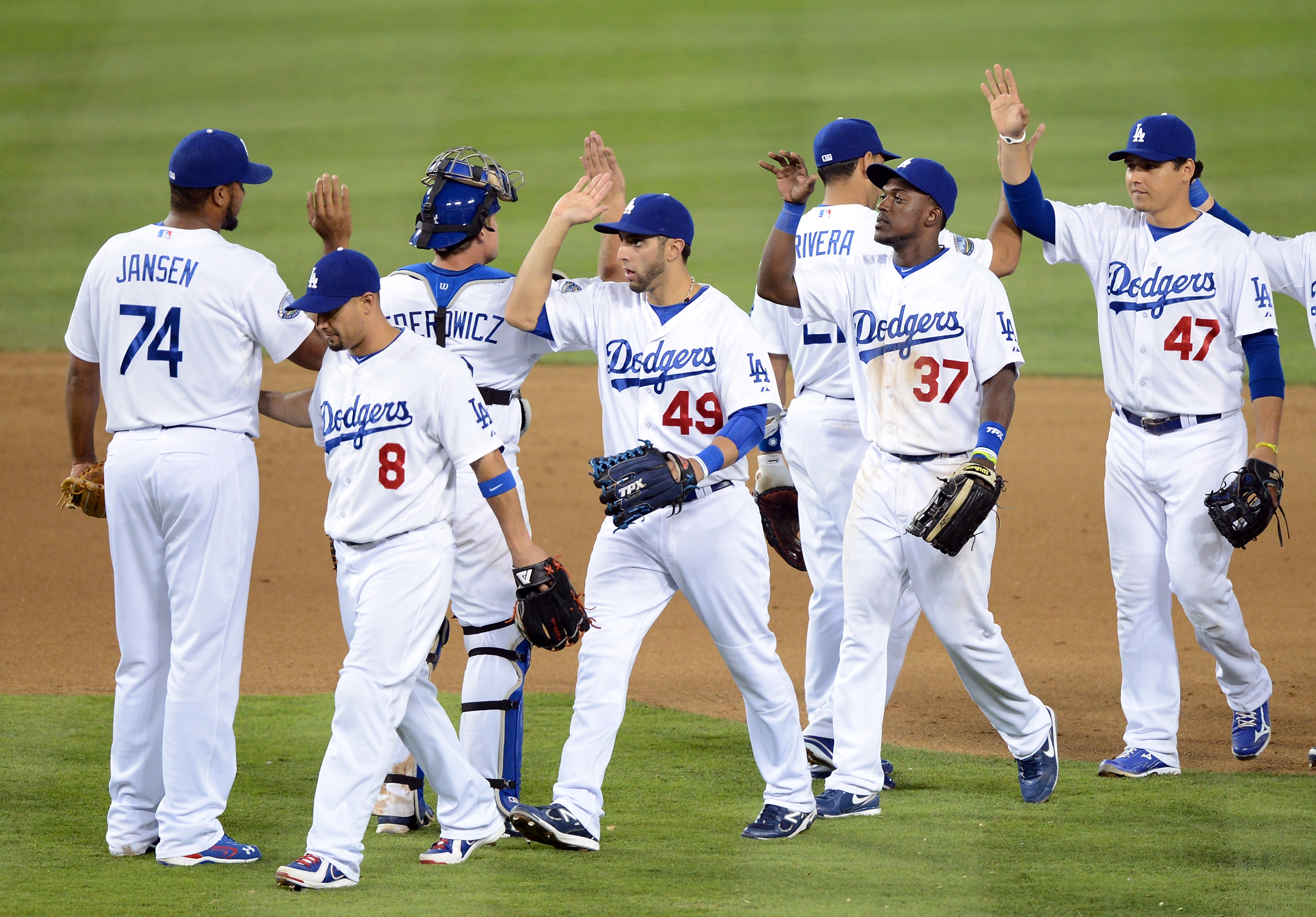 Star power couldn't get the Dodgers in the playoffs. They may double up on their plans this offseason. (Getty)