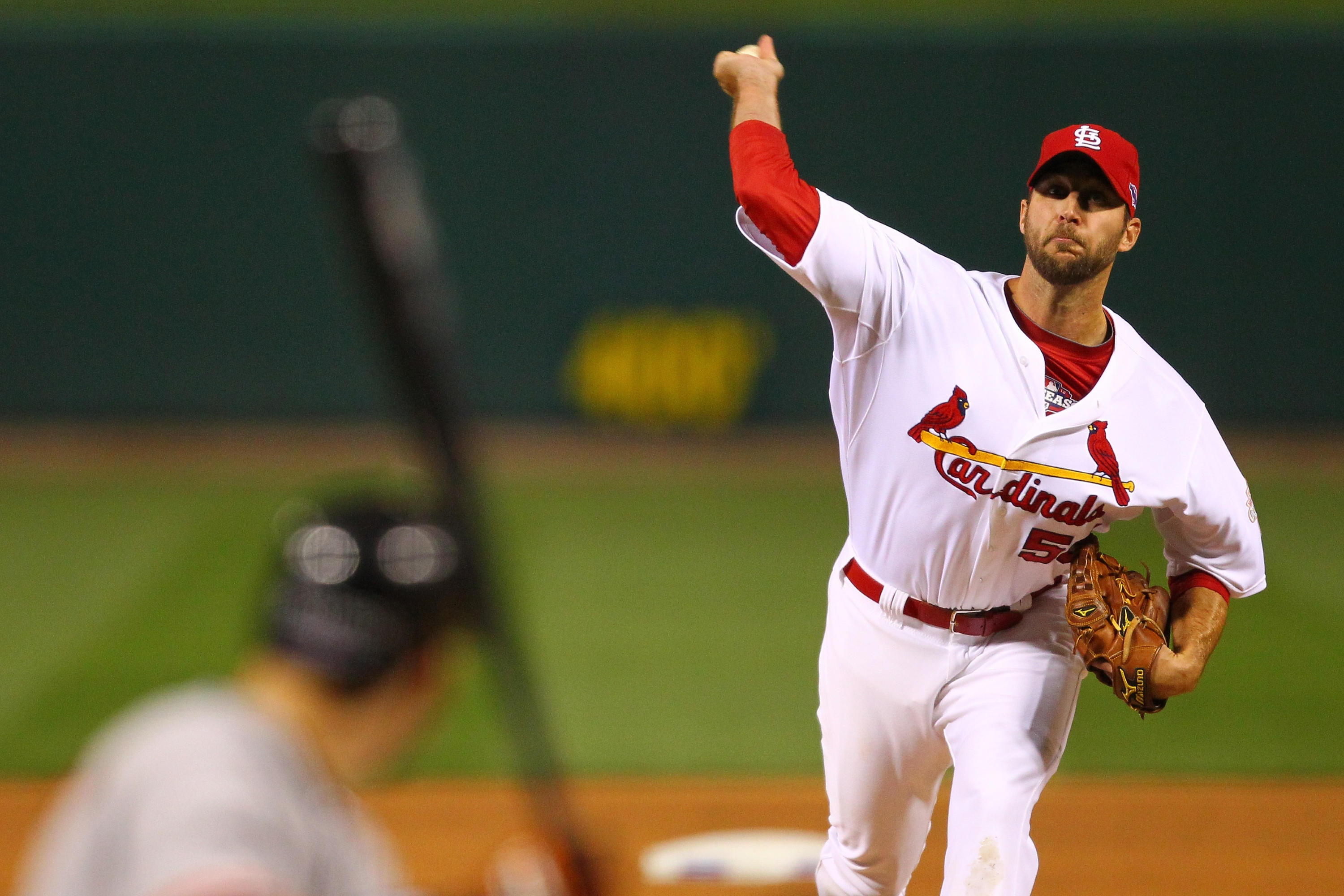 Adam Wainwright went 14-13 with a 3.94 ERA last season. (Getty Images)