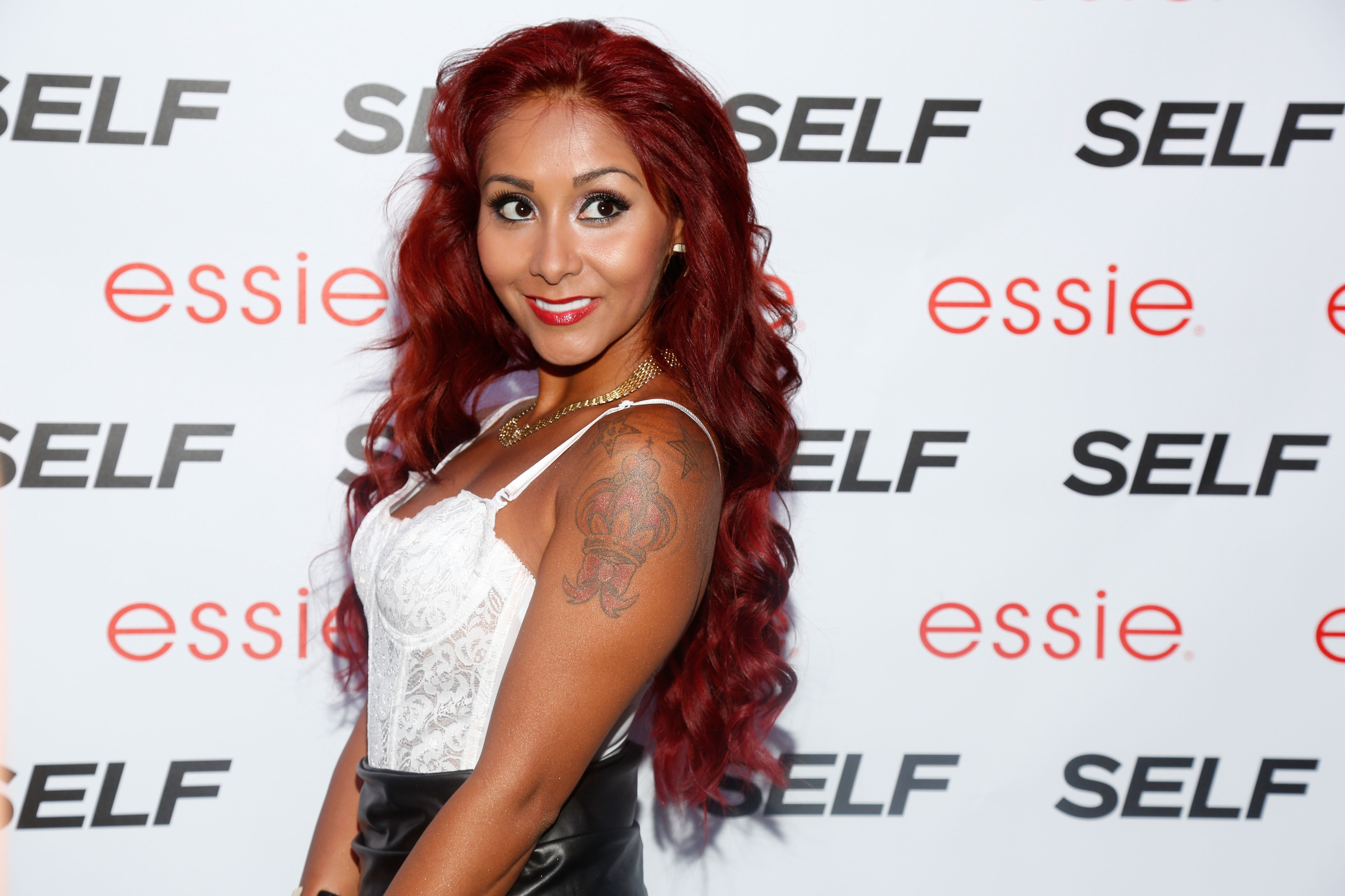 "Nicole ""Snooki"" Polizzi attends Self Rocks the Summer Event on July 16, 2013 in New York City. (Photo by Cindy Ord/Getty Images for SELF Magazine)"