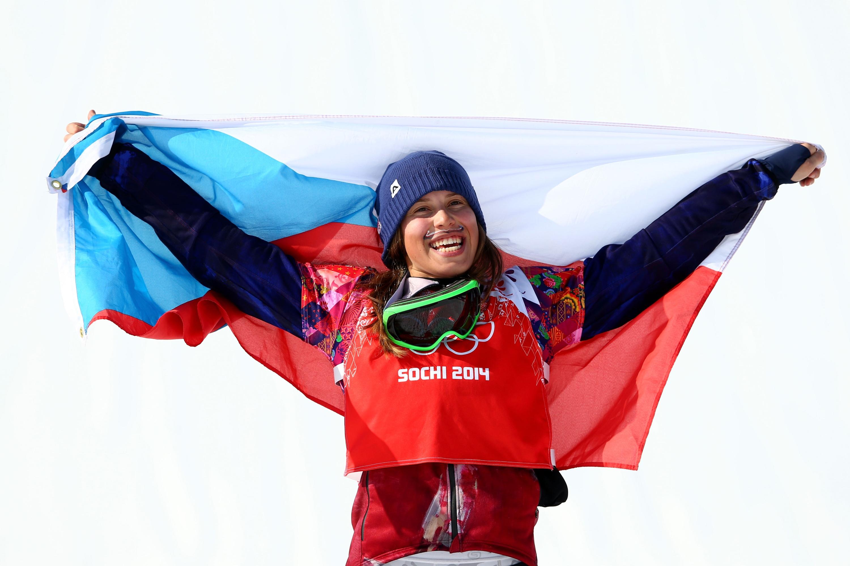Why Olympic Gold Medalist Eva Samkova Wears A Mustache