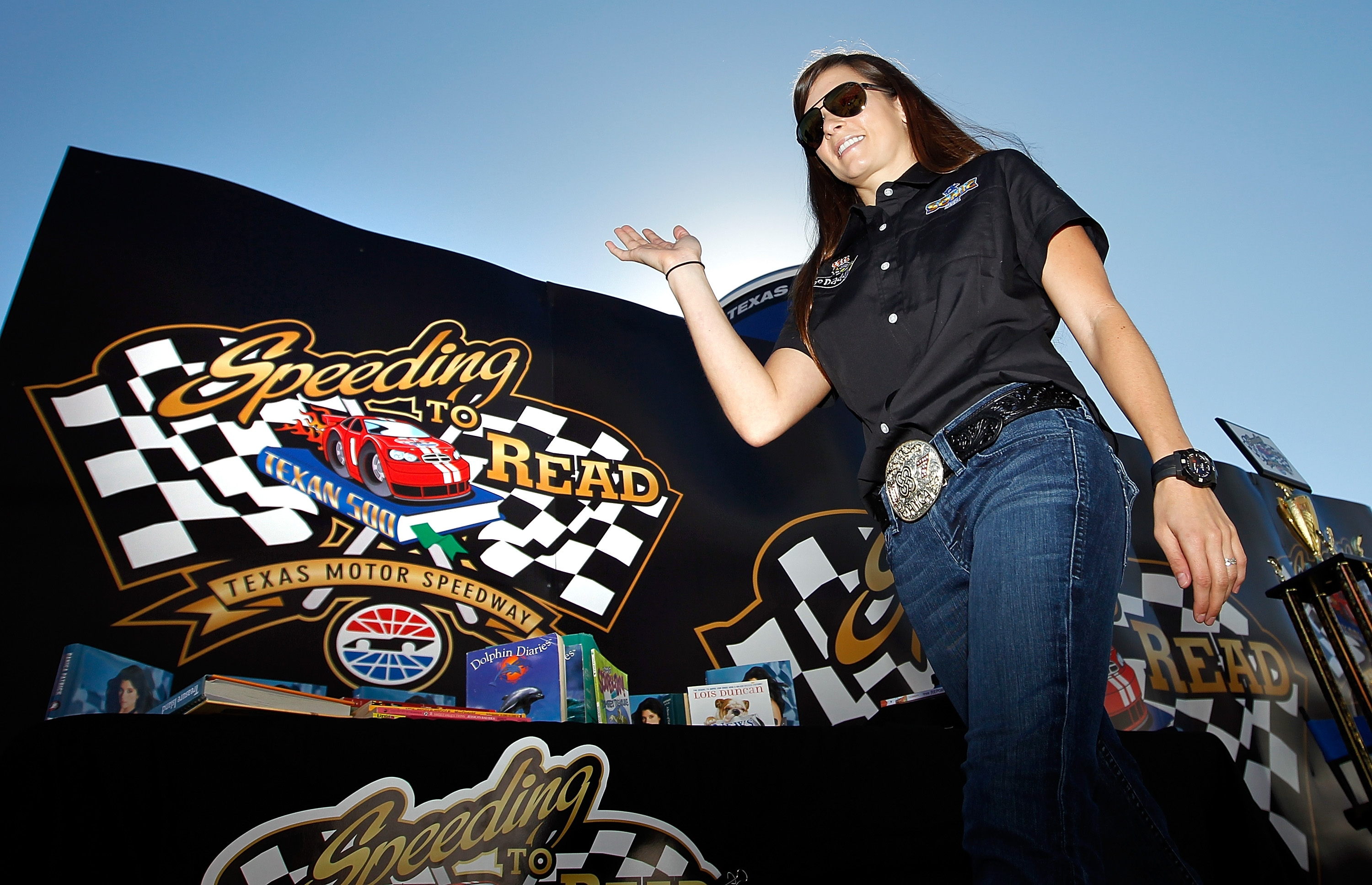 Danica Patrick is comfortable in NASCAR's more 'country' environment. (Getty Images)