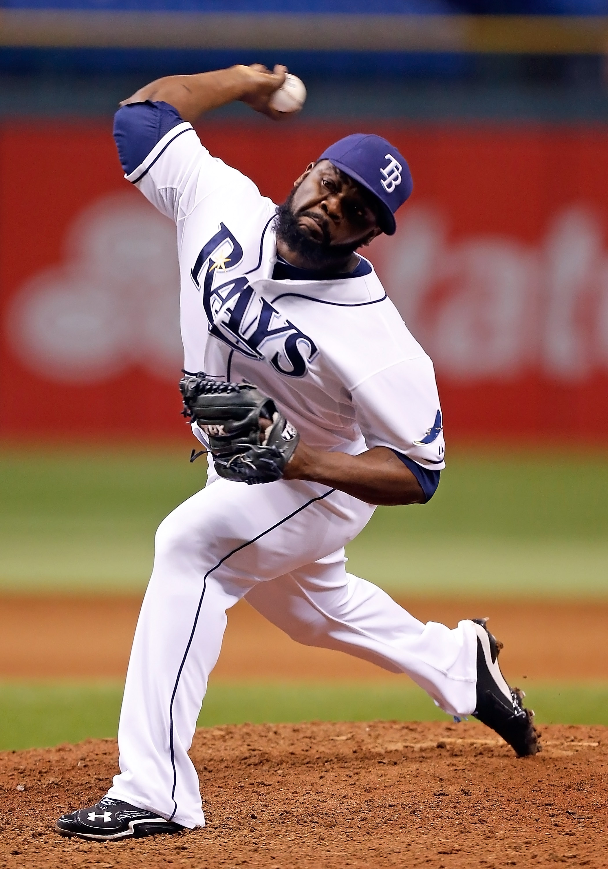 Fernando Rodney's 0.64 ERA is just off Dennis Eckersley's 0.61 record season. (Getty Images)