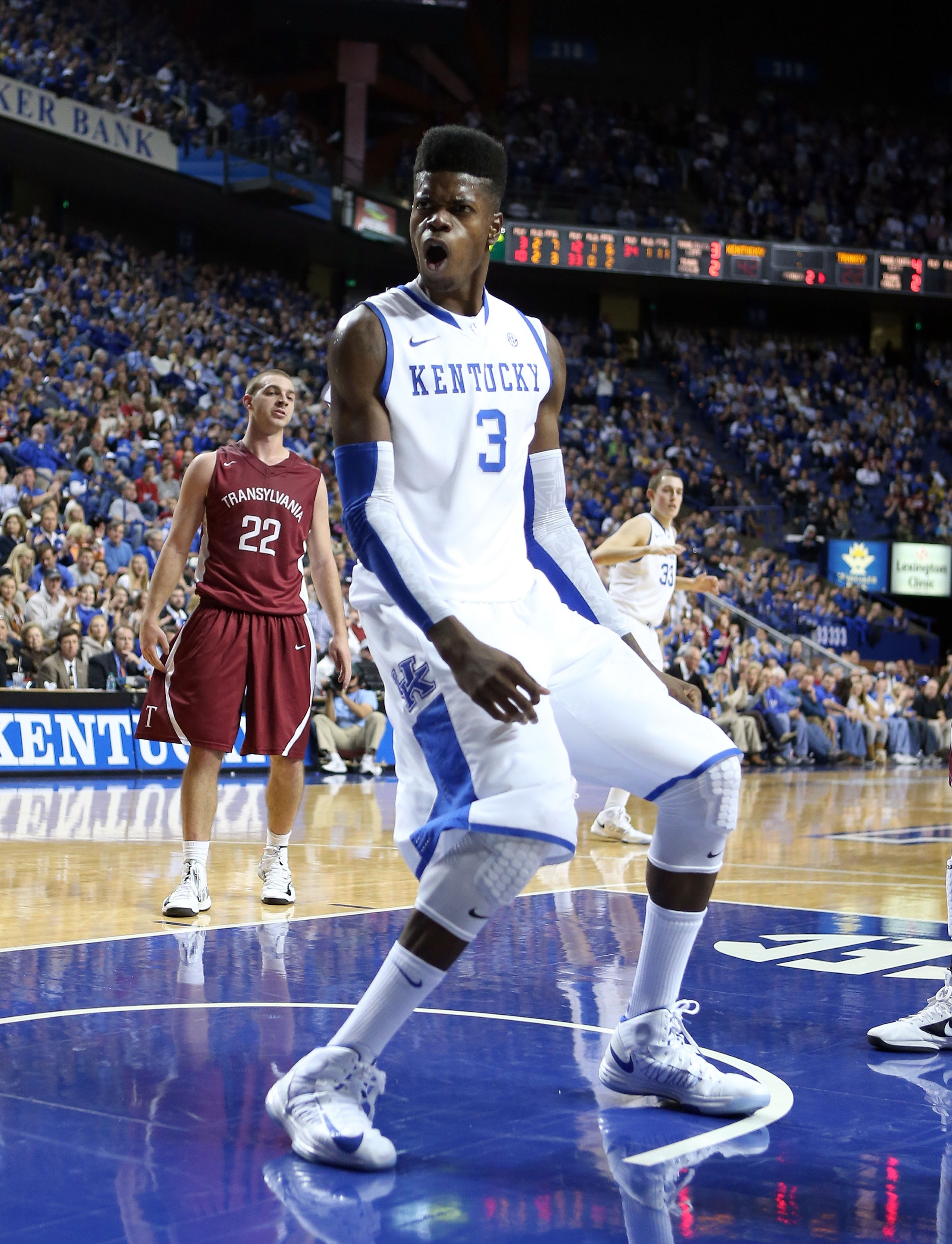 Nerlens Noel and the Wildcats could meet Duke in the Champions Classic. (Getty Images)