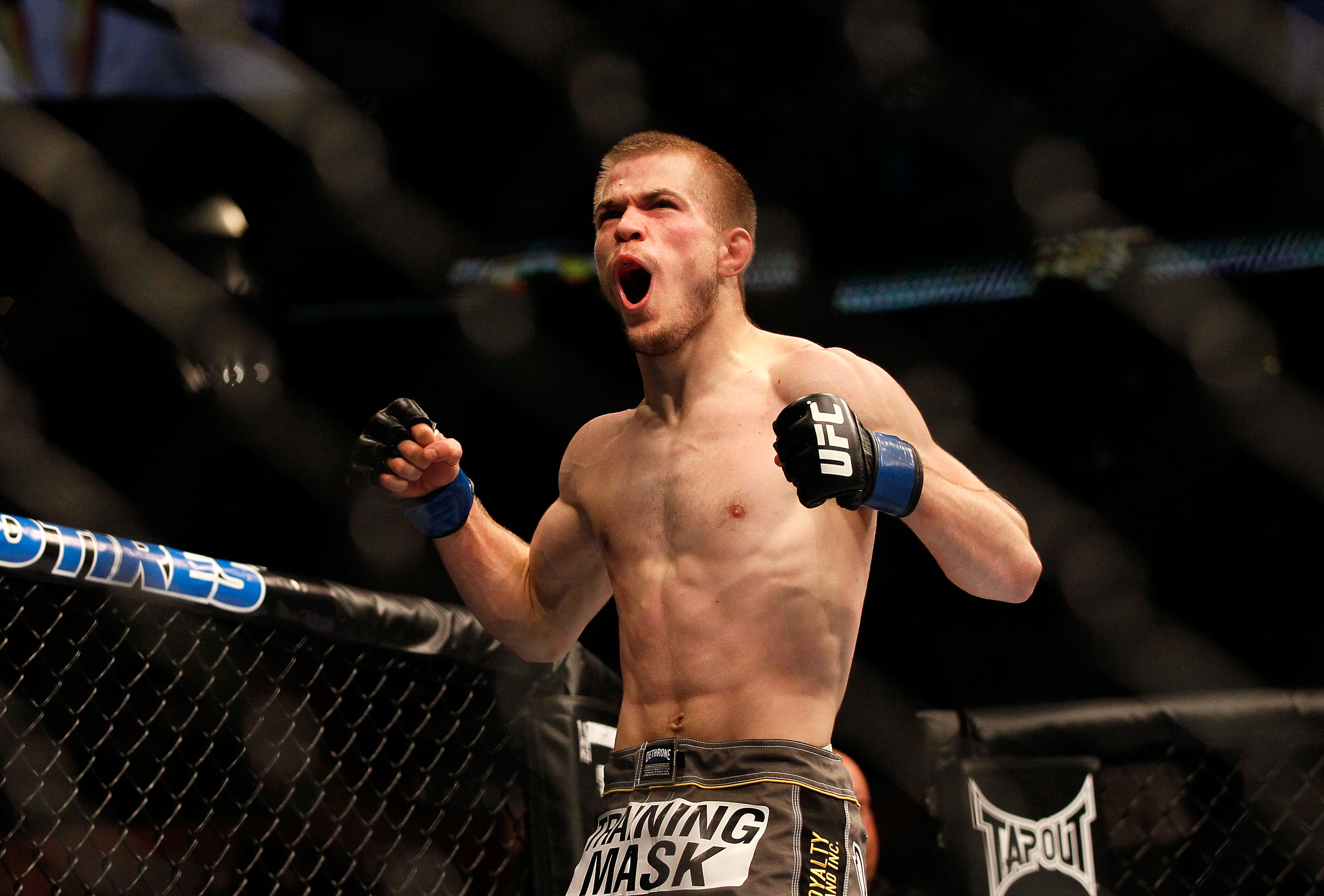 Michael McDonald will fight Renan Barao for the bantamweight championship on Feb. 16. (Getty Images)