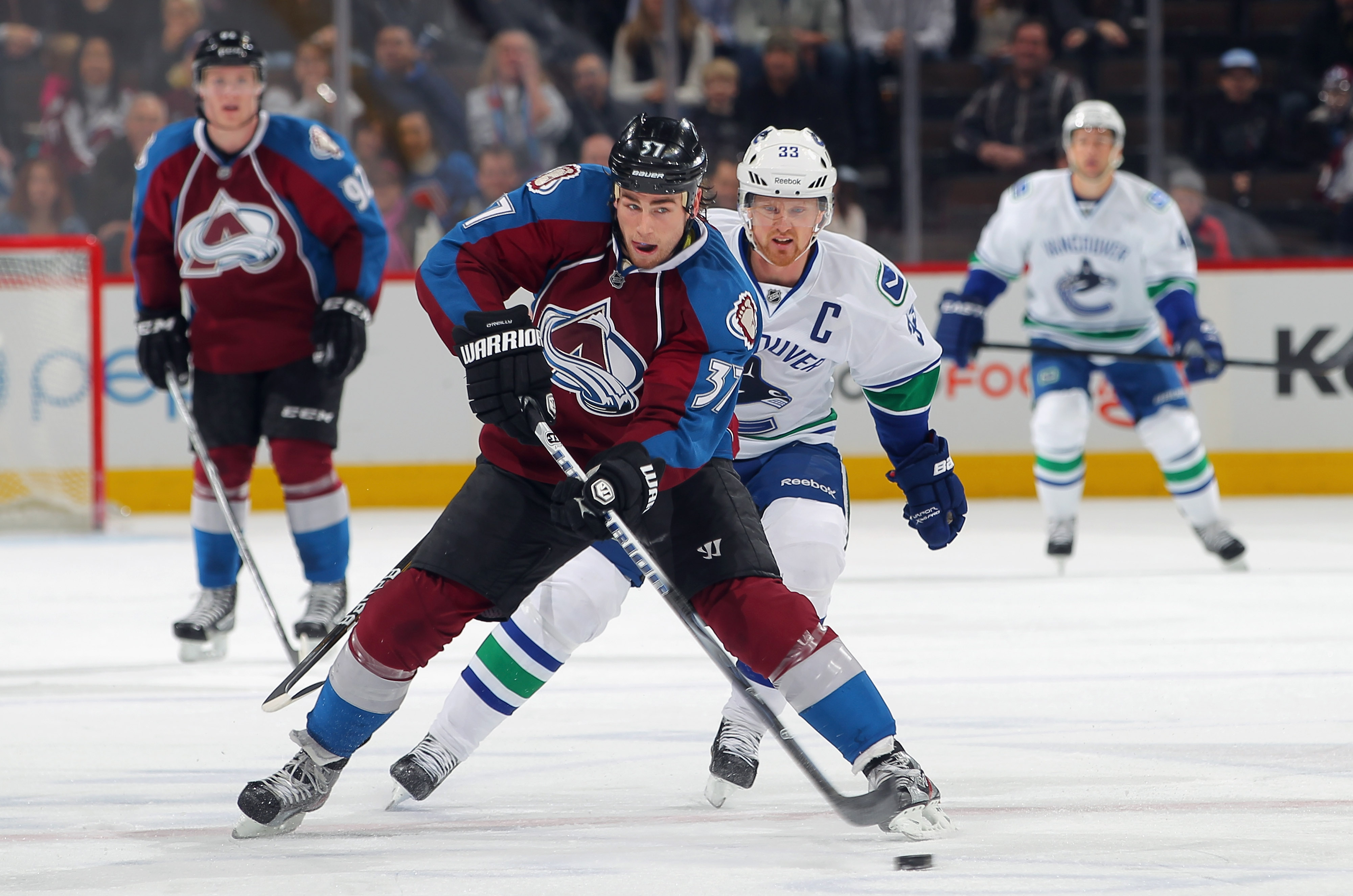 Ryan O'Reilly wants to be a go-to guy in all situations for the Avs. (Getty Images)