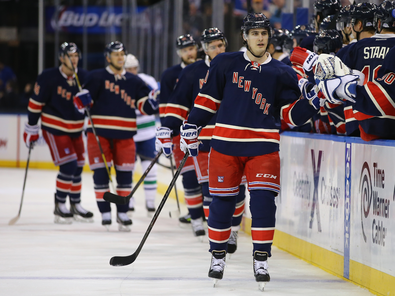 Vancouver Canucks v New York Rangers