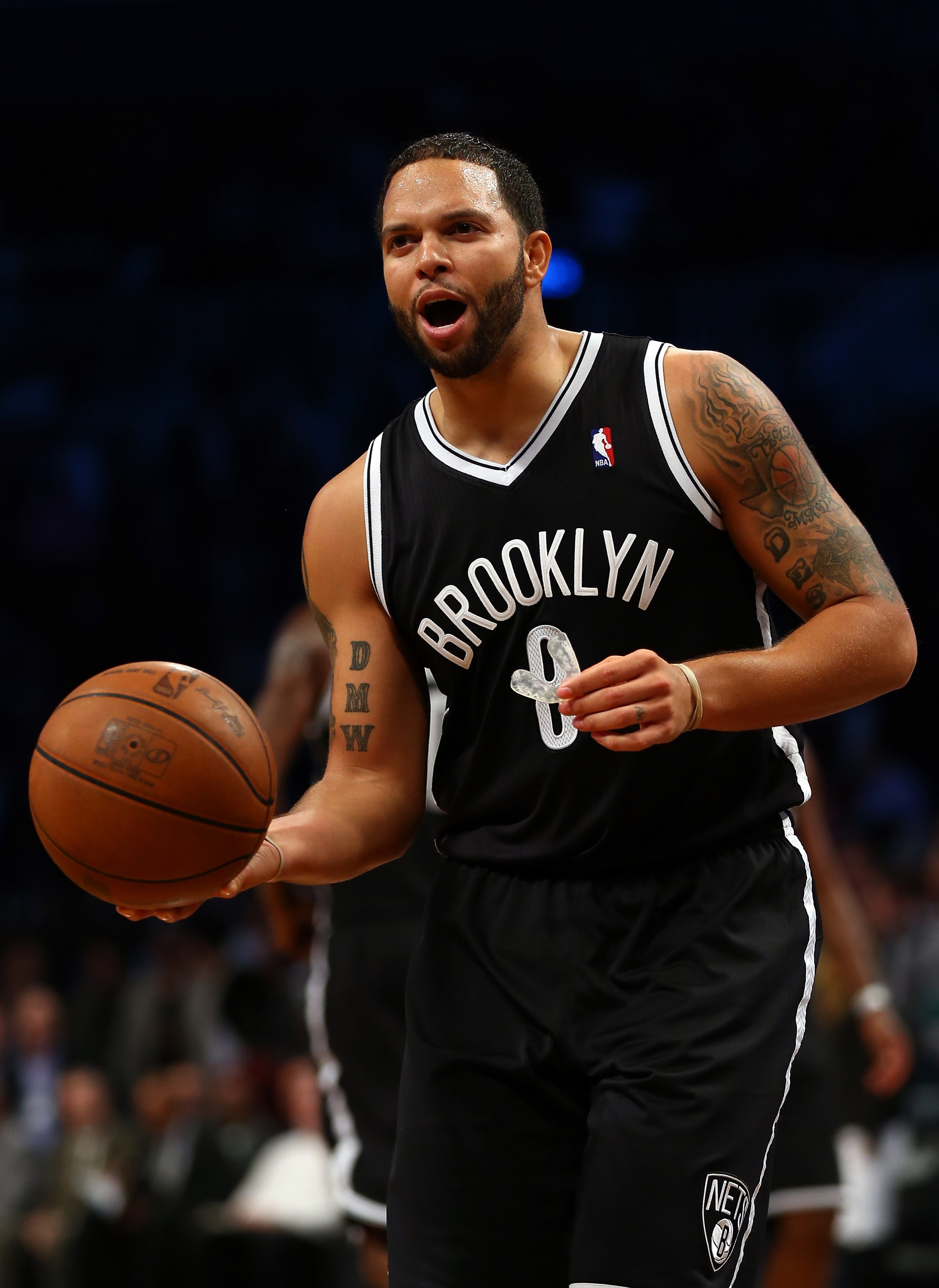 Deron Williams had 11 points and nine assists in the Nets' preseason victory. (Getty Images)