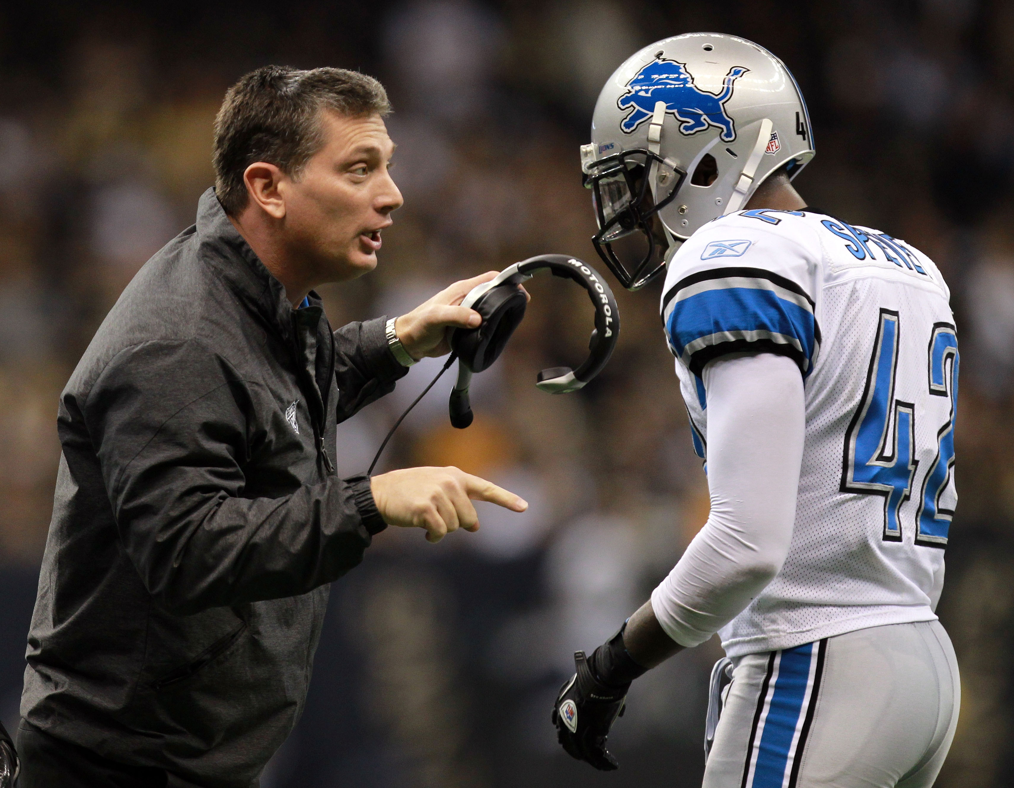 The Lions are threatening to undo the progress they've made under Jim Schwartz. (AP)