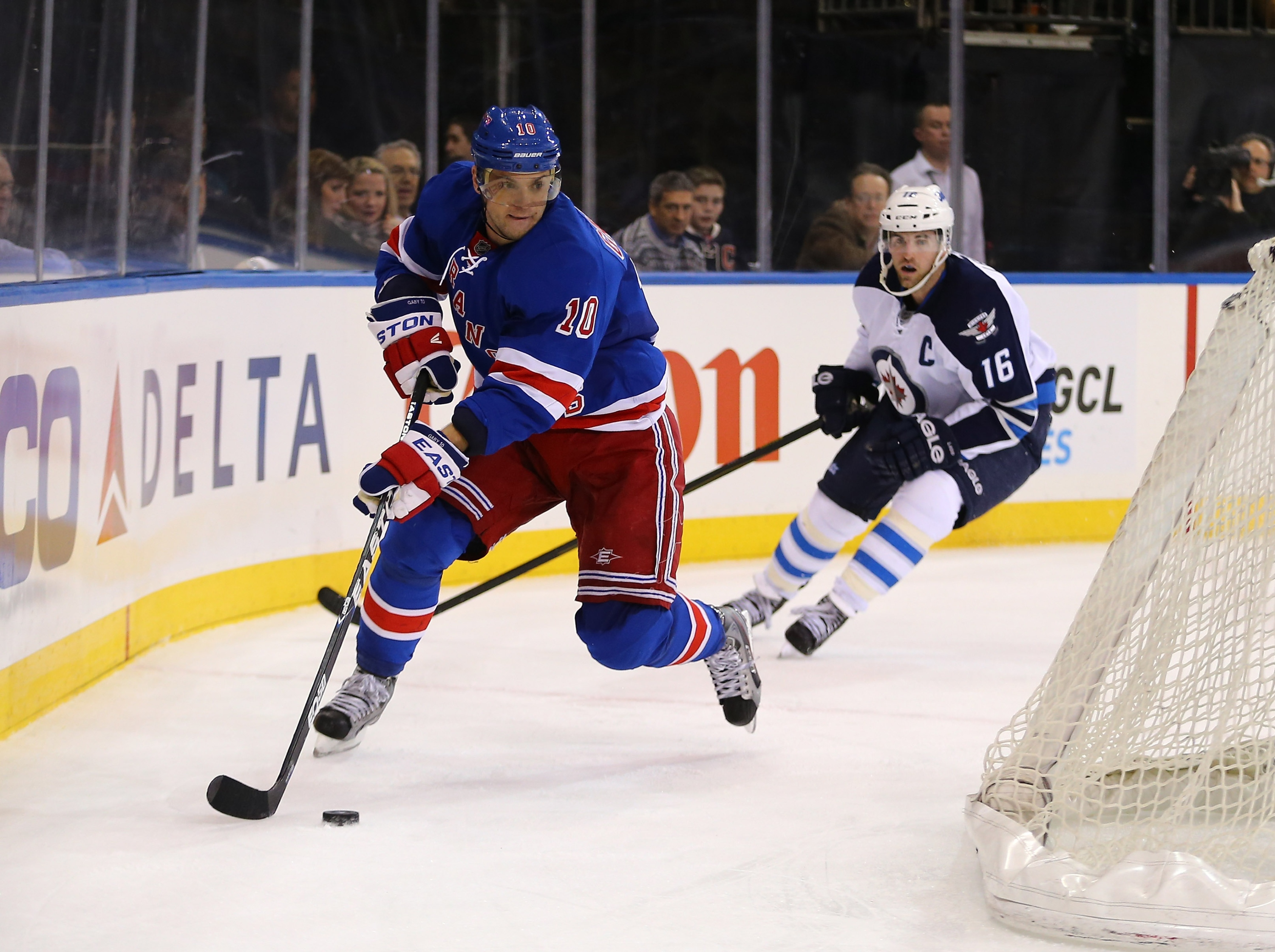 Marian Gaborik takes his high-wire goal-scoring act to Columbus. (Getty)