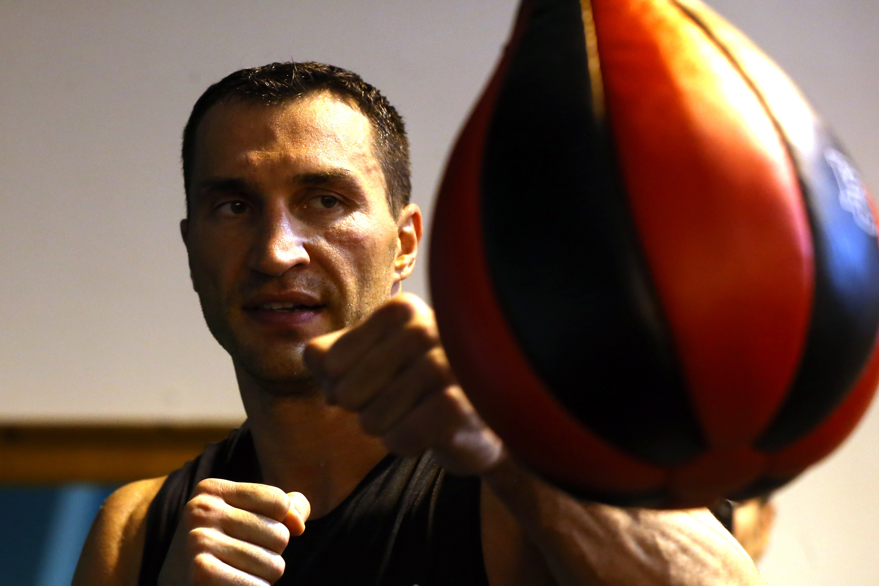 Wladimir Klitschko Media Day