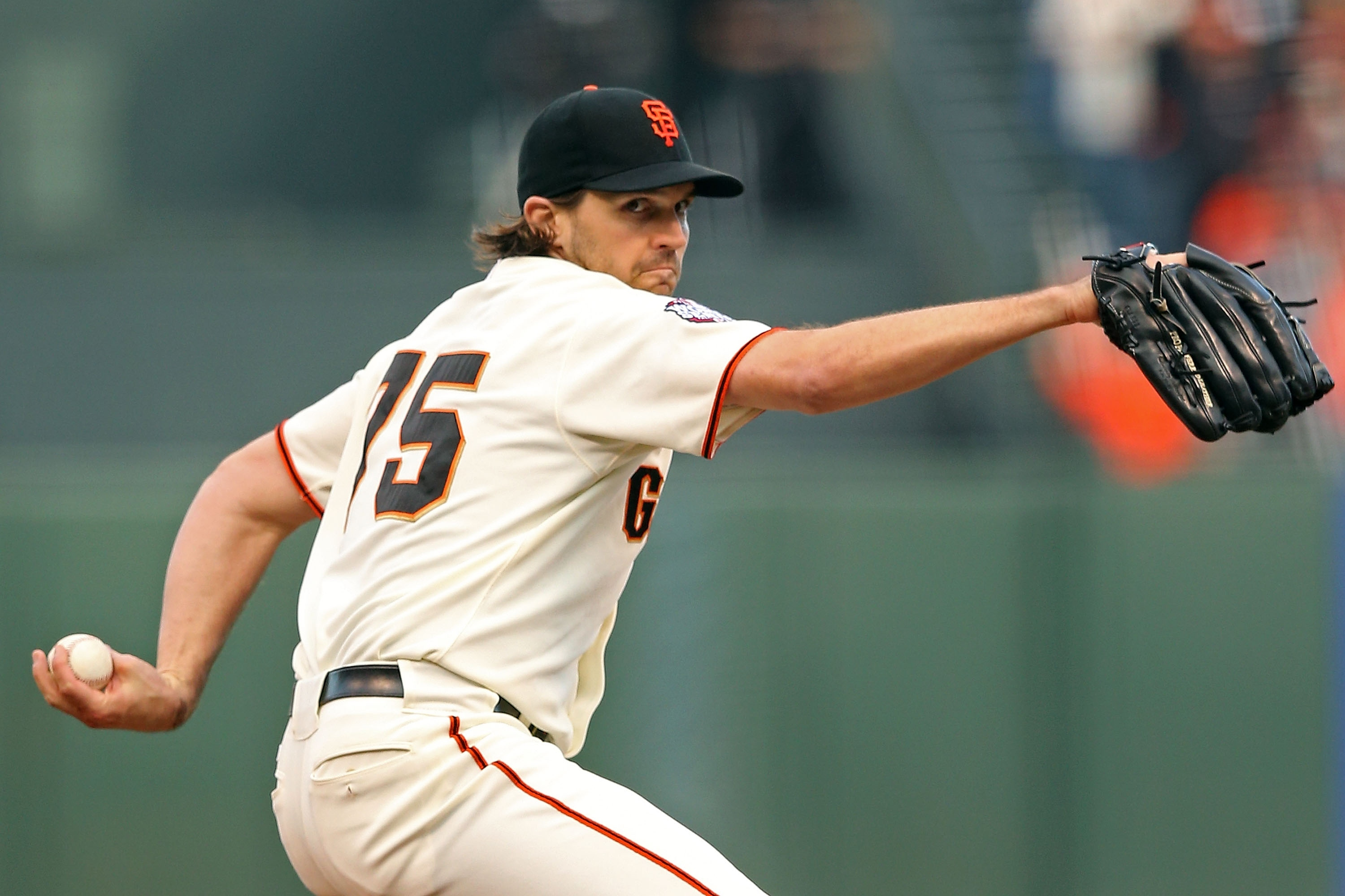Barry Zito held the Tigers to one run and six hits in 5 2/3 innings in Game 1. (Getty Images)