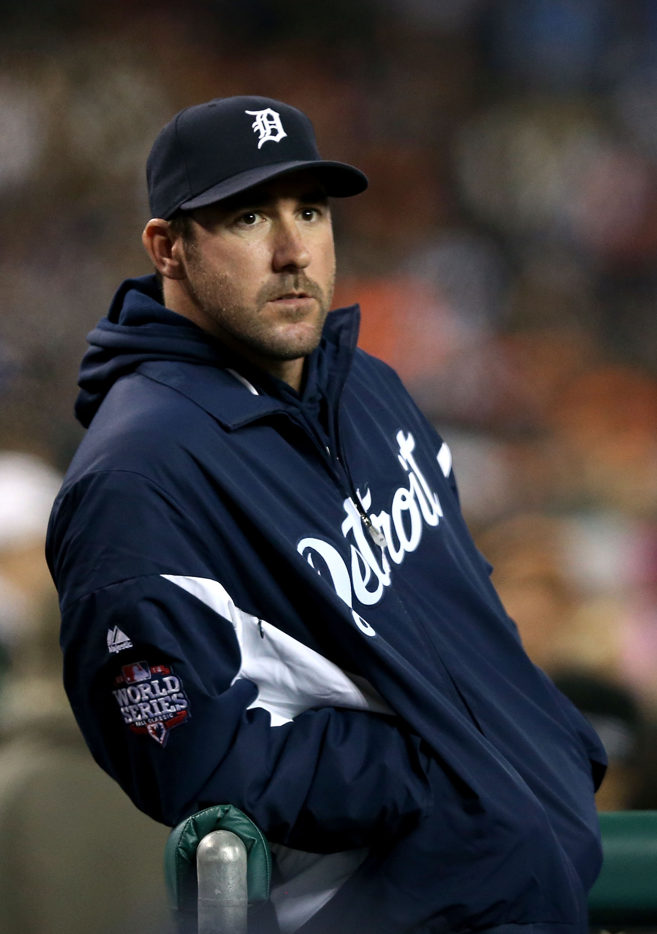 Justin Verlander never got the opportunity to take the mound in a Game 5. (Getty Images)