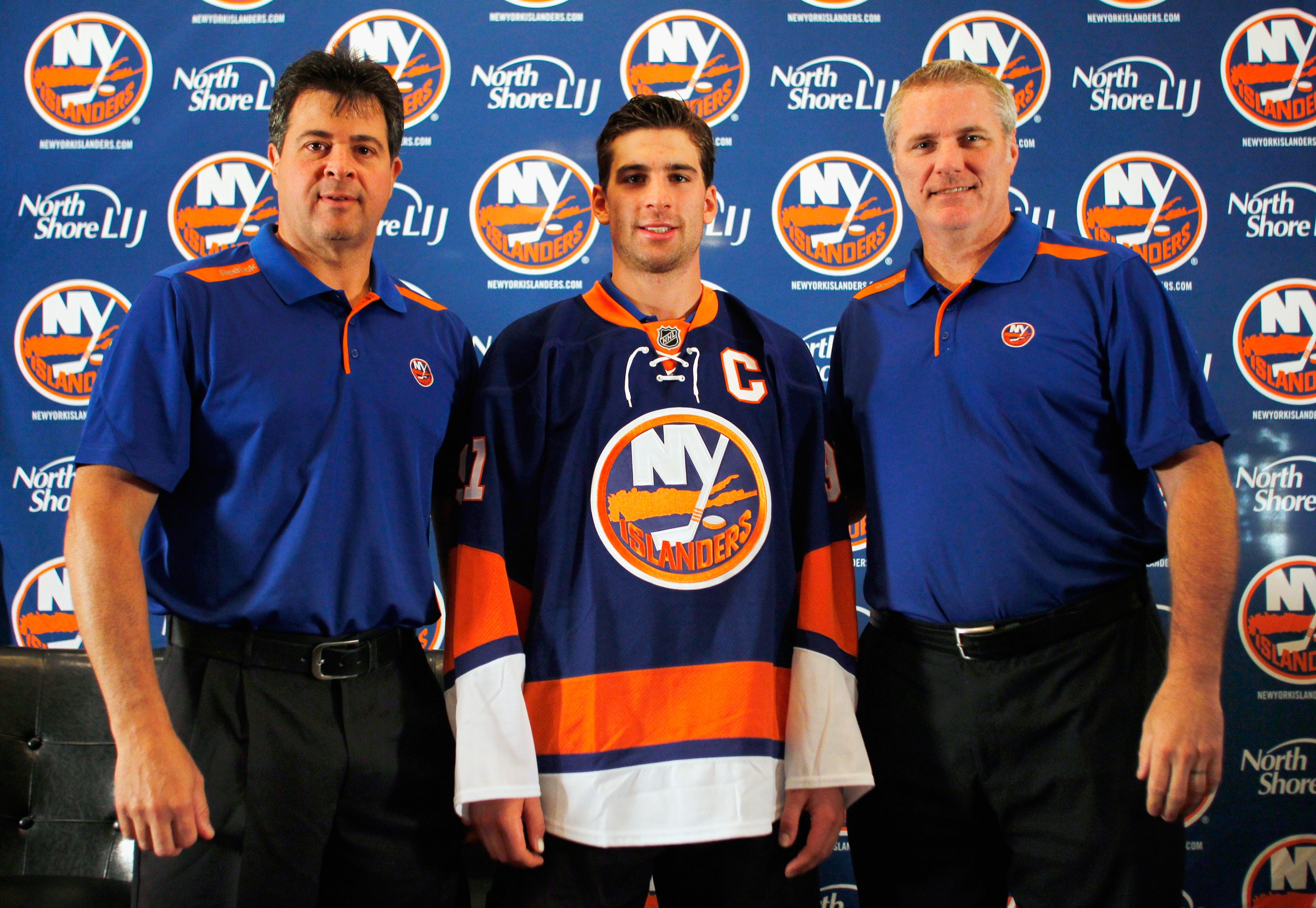 The Isles handed the 'C' as well as the future of the franchise to 22-year-old rising star John Tavares. (Getty)