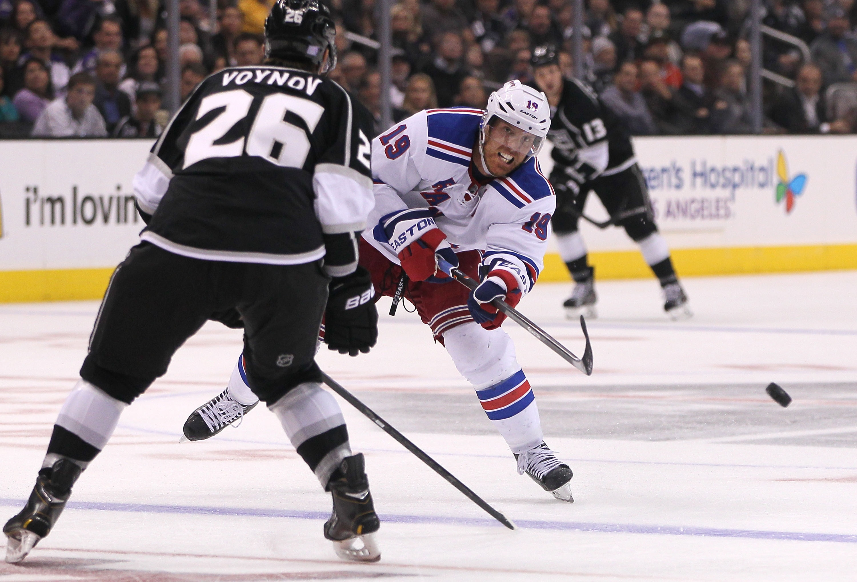 The Rangers have struggled, but Brad Richards is off to a good start after being scratched in 2013 playoffs. (Getty)