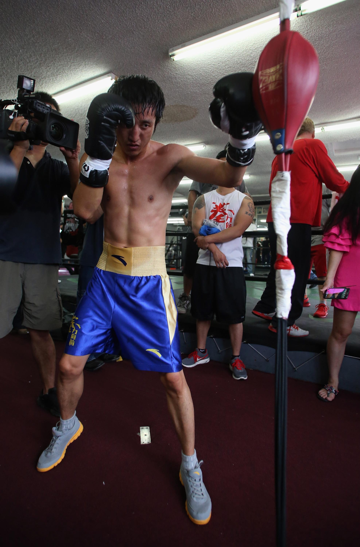 Zou Shiming Media Workout