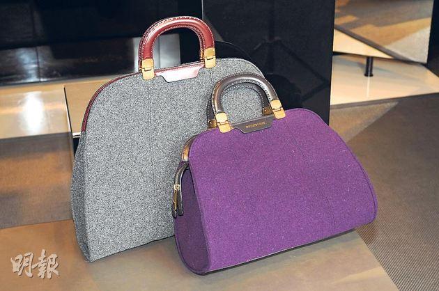 紫色包搭配法