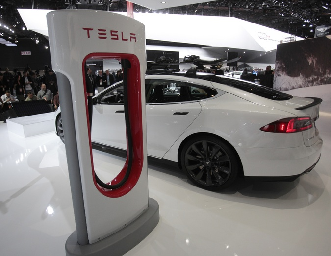 Tesla expands charging network across Europe