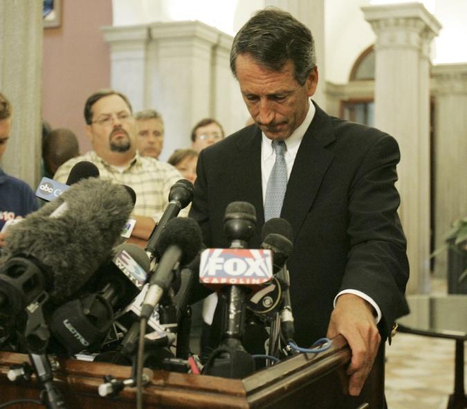 Grownup Congressman Mark Sanford Announces Breakup on Facebook