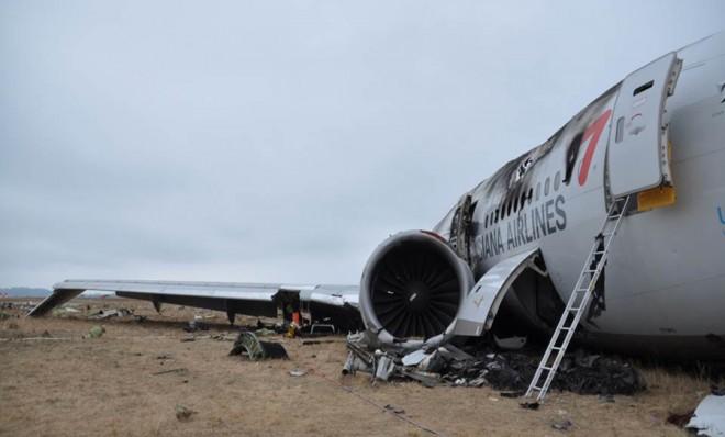 Deserted Island Plane Crash