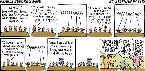 Cartoon by Pearls Before Swine