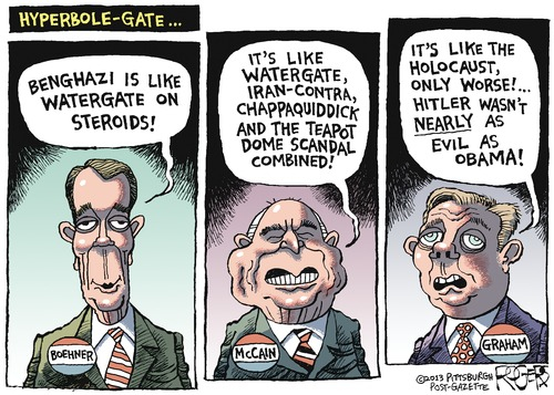 Cartoon by Rob Rogers