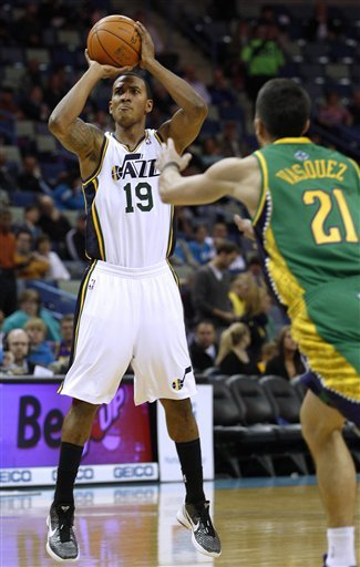 Veteran guard Raja Bell last played for the Jazz last season. (AP)