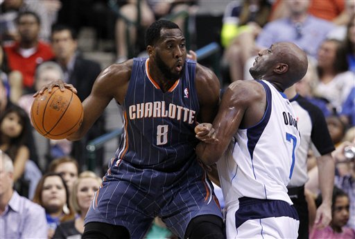 D.J. White averaged 6.8 points while playing in 58 games for the Bobcats last season. (AP)