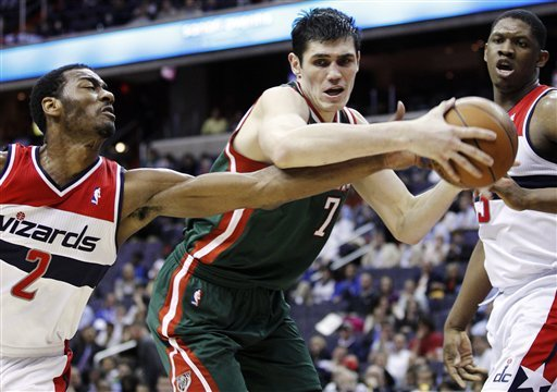 Ersan Ilyasova averaged career highs of 13 points and 8.8 rebounds last season. (AP)