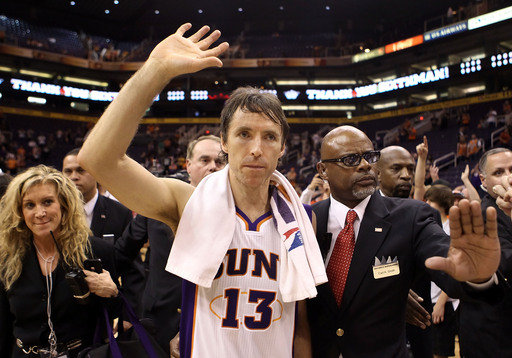 Steve Nash will get a guaranteed three-year, $27 million contract from the Lakers. (Getty Images)