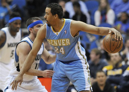 Andre Miller averaged 9.7 points and 6.7 assists last season with the Nuggets. (AP)