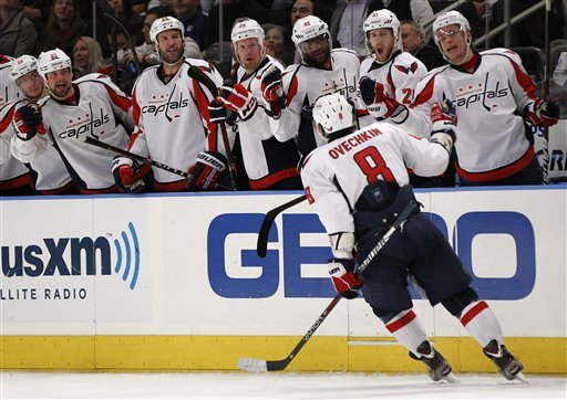 Ovechkin's teammates maintain he's still their guy. (Getty Images)