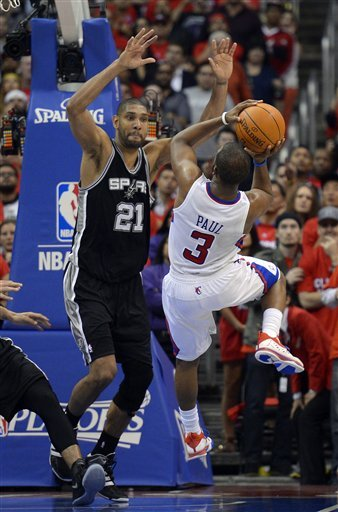 Early success of Spurs' superstars eludes Thunder