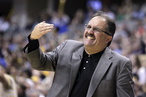 Stan Van Gundy was let go as the Magic's coach after the 2011-12 season. (AP)