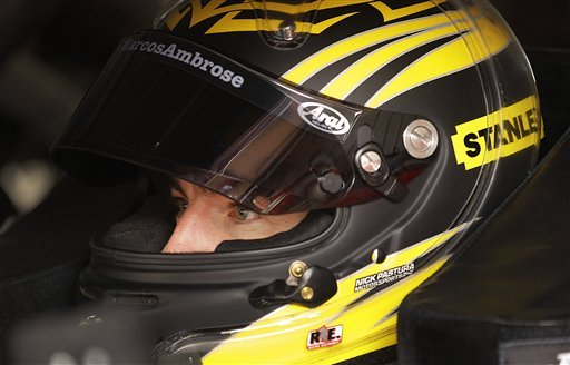 Marcos Ambrose makes it 2 poles in a row
