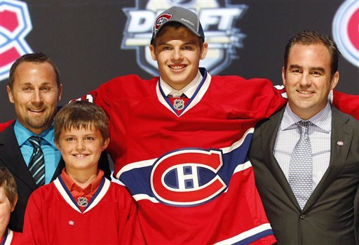 Oilers take Russian F Yakupov with NHL's top pick
