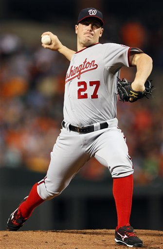 Hammel leads Orioles over Nationals 2-1