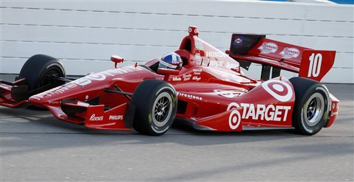 Franchitti takes IndyCar pole at Iowa