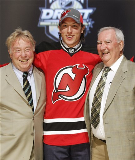NJ Devils select son of Matteau with 29th pick